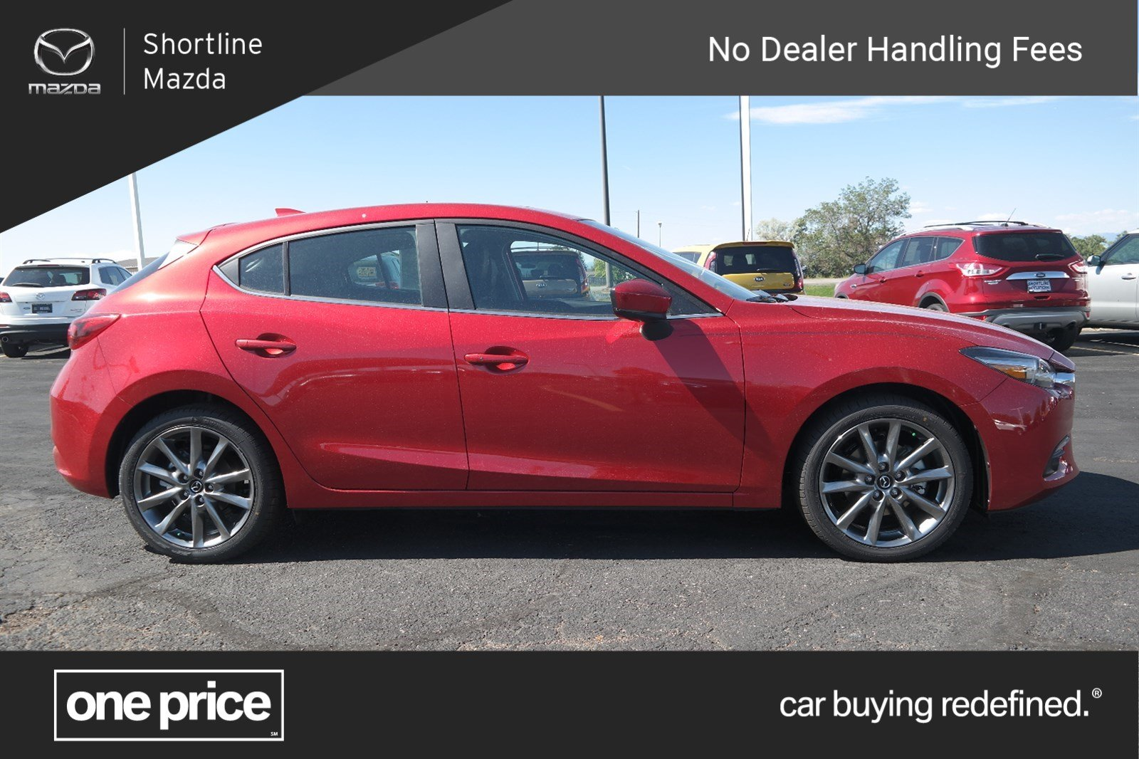 New 2018 Mazda Mazda3 5 Door Grand Touring Hatchback In Aurora