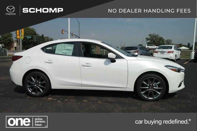 New 2018 Mazda3 4-Door Touring