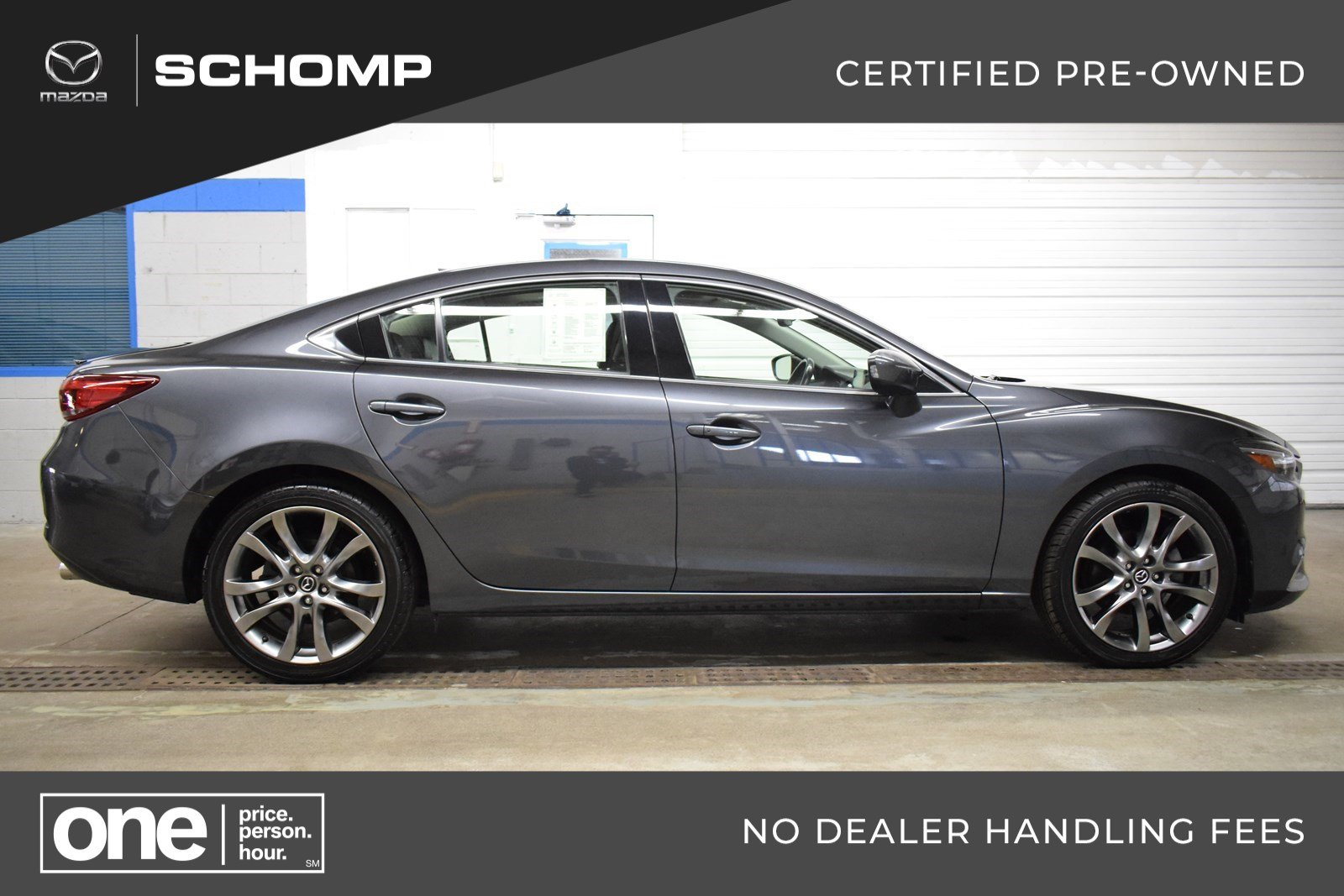 Certified Pre Owned 2016 Mazda6 I Grand Touring