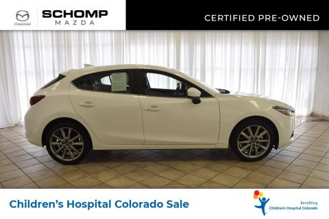 Certified Pre-Owned 2018 Mazda3 5-Door Grand Touring